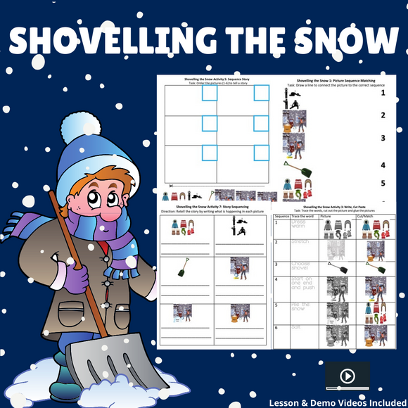 Shovelling the Snow with 8 Activities