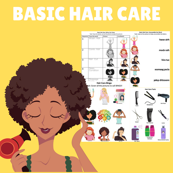 Basic Hair Care with 7 Activities