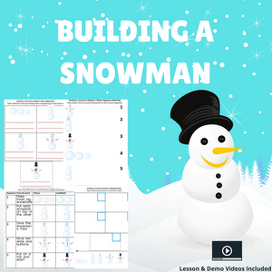 Building a Snowman with 8 Activities