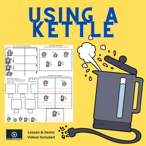 Using a Kettle with 8 Activities & 1 Video