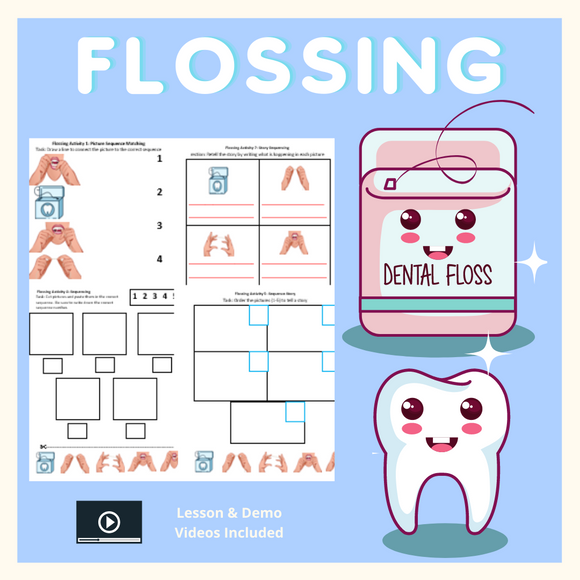 Flossing with 8 Activities & 1 Video