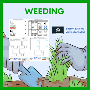 Weeding with 8 Activities & 1 Video