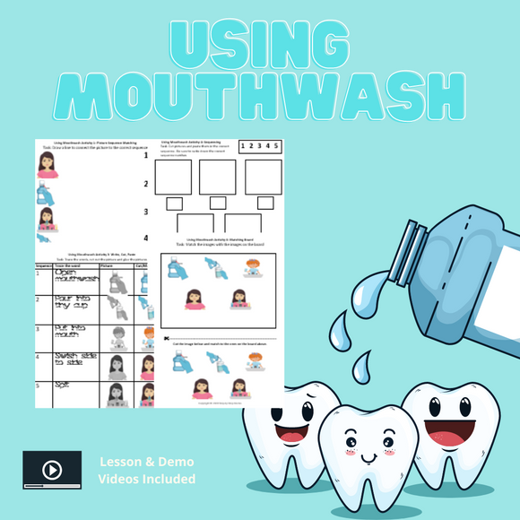 Using Mouthwash with 8 Activities & 1 Video