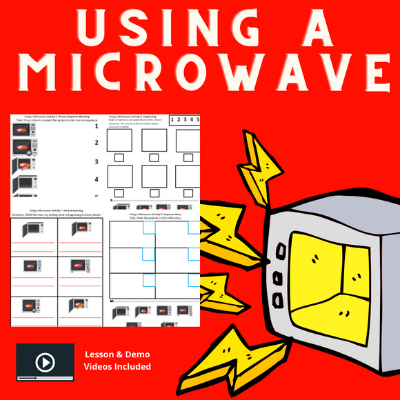 Using a Microwave with 8 Activities & 1 Video