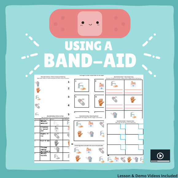 Using a Band-aid with 8 Activities & 1 Video