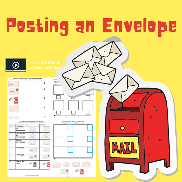 Posting an Envelope with 8 Activities & 1 Video