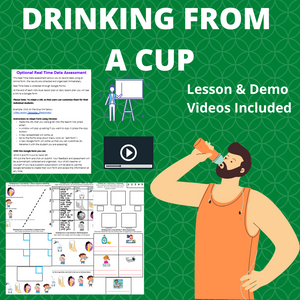 Drinking from a Cup with 8 Activities & 1 Video