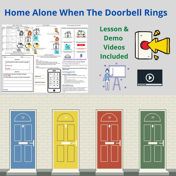 Home Alone: Doorbell Rings with 2 Videos & 5 Activities