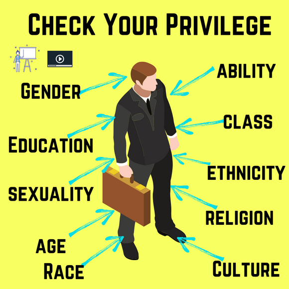 Check Your Privilege with 2 Videos & 4 Activities