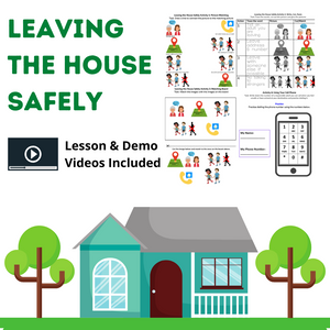 Leaving the House Safely with 6 Activities & 2 Videos