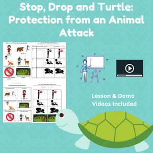Stop, Drop, Turtle: Protection from an Animal Attack w/ 5 Activities & 2 Videos