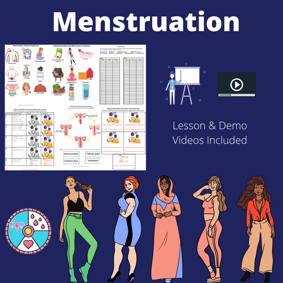 Menstruation with 2 Video Lessons & 7 Activities