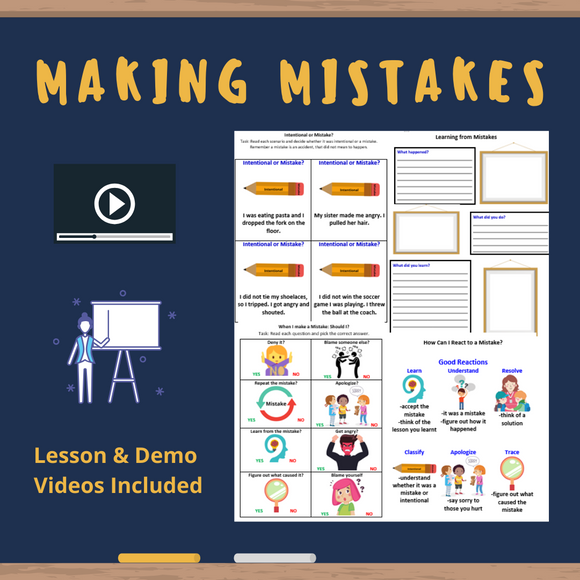 Making Mistakes with 7 Activities & 2 Videos