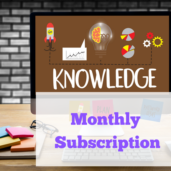 Monthly Website Subscription