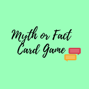 20 Myth or Fact Cards: Mental Health Resource
