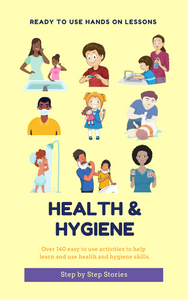 Health and Hygiene Activity Book