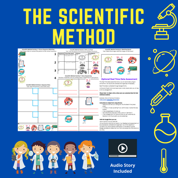 Scientific Method with 8 Activities & 1 Video