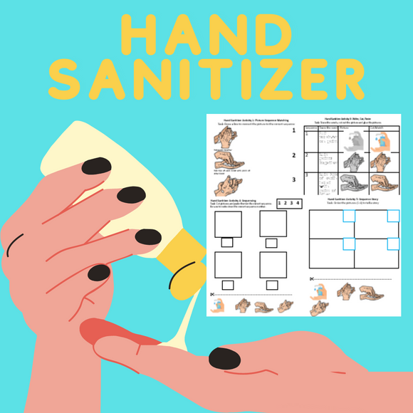 Hand Sanitizer with 8 Activities & 1 Video