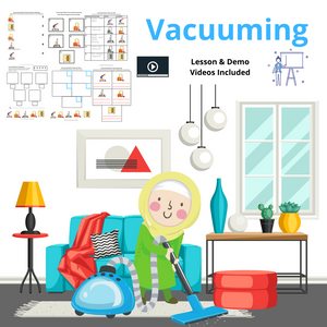 Vacuuming with 8 Activities & 2 Videos