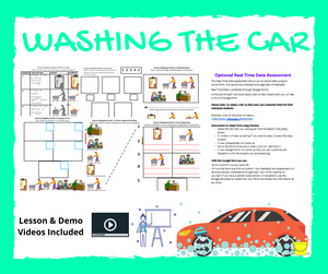 Washing the Car with 8 Activities & 1 Video