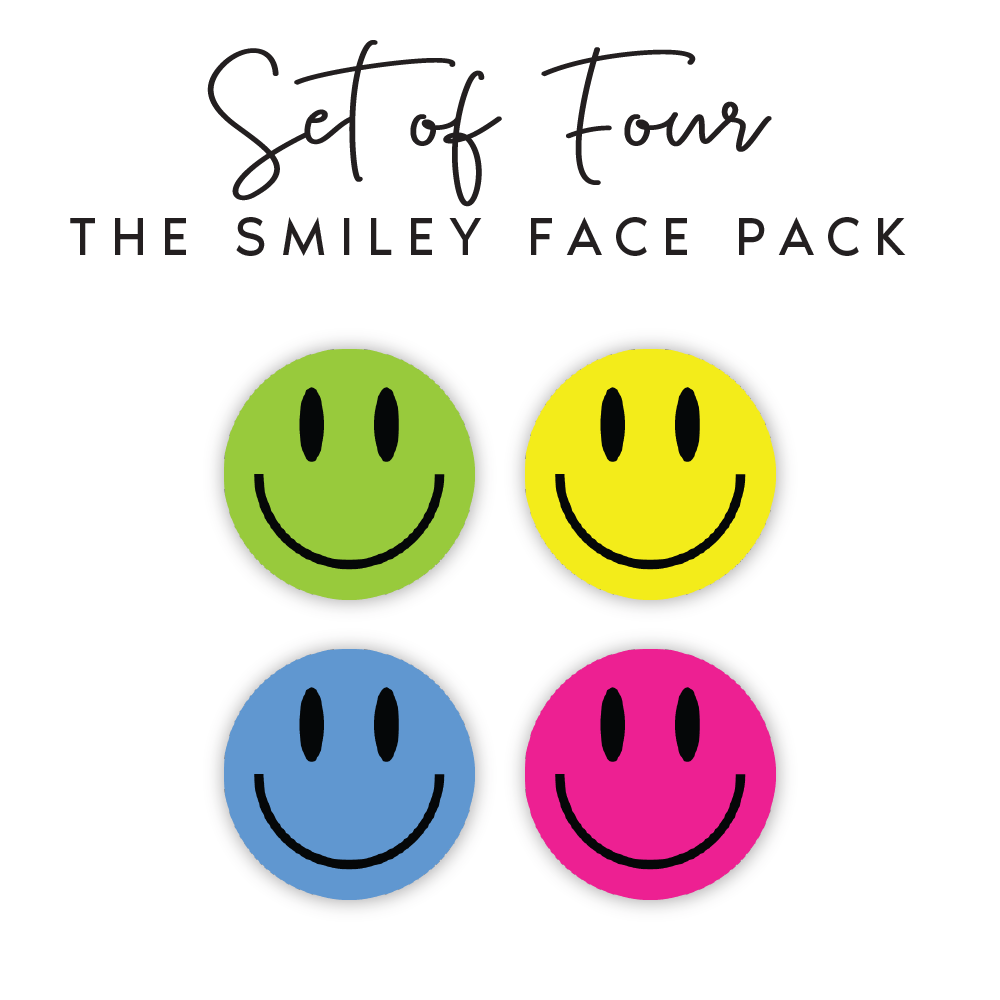 Smiley Face Pack <br / ><p>$10.00 each</p>