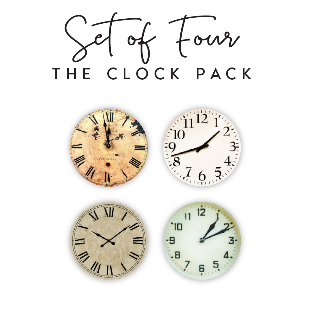 Clocks  Pack <br / ><p>$10.00 each</p>