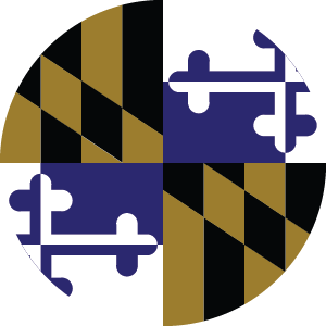 Purple Maryland Flag