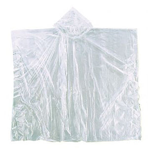 Clear Poncho with Hood<br / > <p>from $2 each</p>