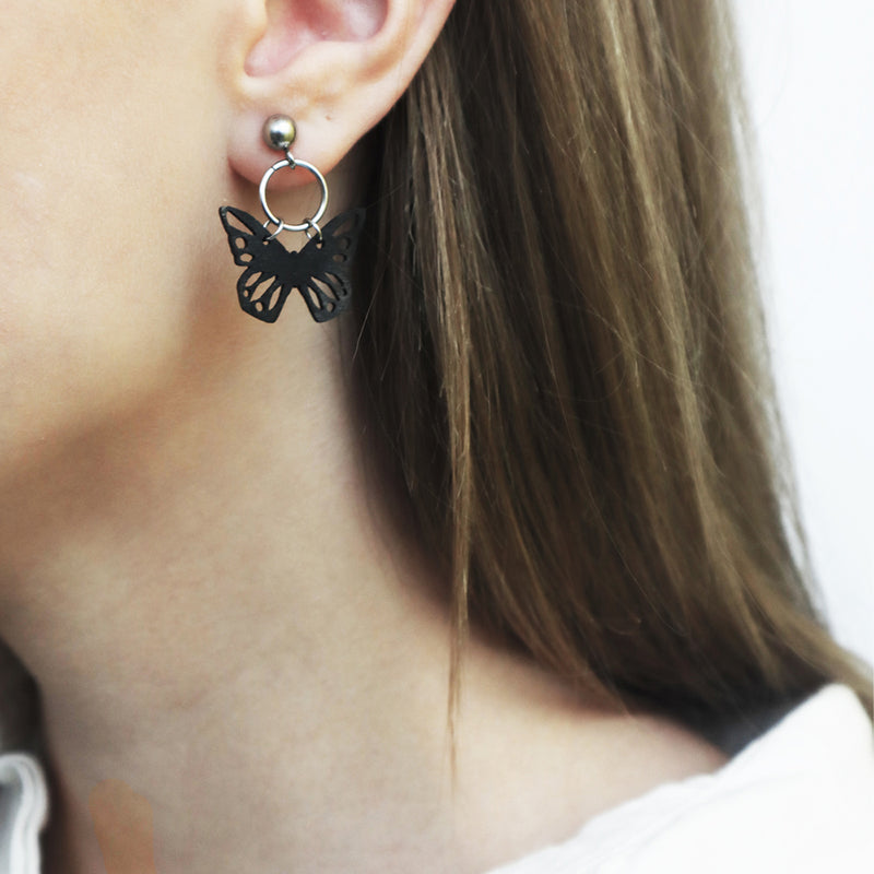 Butterfly - earrings