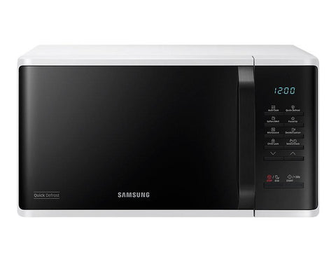 SAMSUNG MICROWAVE OVEN (MS23K3513AW/TC 23L)