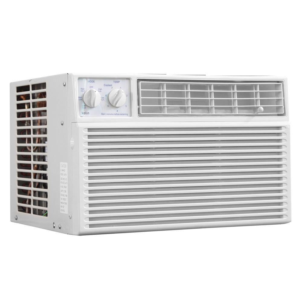 KOLIN  0.6 HP WINDOW TYPE AIR CONDITIONER (KAG-60HME4)