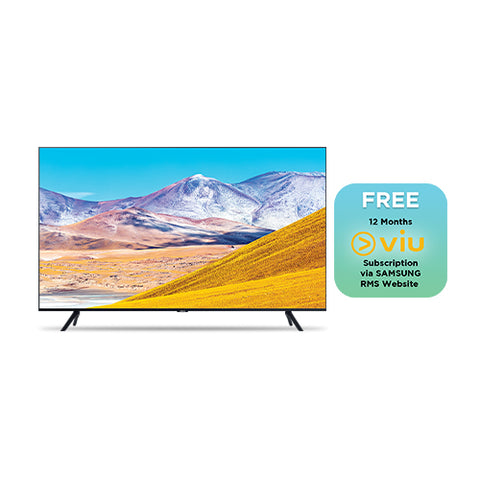 SAMSUNG  50-INCH SMART UHD TV (UA50TU8000G)