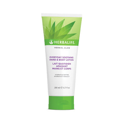 Lait Quotidien Apaisant Mains et Corps Herbal Aloe