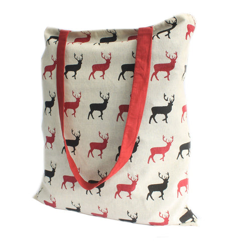 Stag Wine Reversible Tote Bag Large - Gift2U.co.uk - Unique gifts online to You