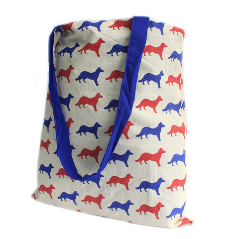 Blue Fox Reversible Tote Bag Large - Gift2U.co.uk - Unique gifts online to You
