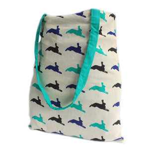 Hare Green Reversible Tote Bag Large - Gift2U.co.uk - Unique gifts online to You