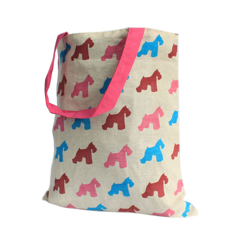 Pinky Scotty Reversible Tote Bag Medium - Gift2U.co.uk - Unique gifts online to You