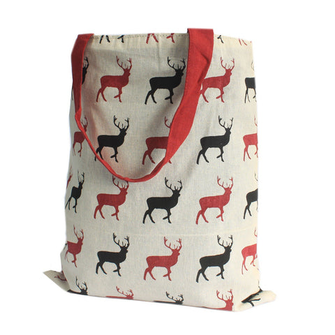 Stag Wine Reversible Tote Bag Medium - Gift2U.co.uk - Unique gifts online to You