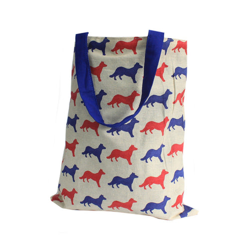 Blue Fox Reversible Tote Bag Medium - Gift2U.co.uk - Unique gifts online to You