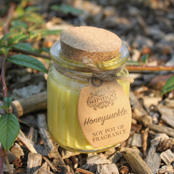 Honeysuckle Soy Pot of Fragrance Candles - Gift2U.co.uk - Unique gifts online to You