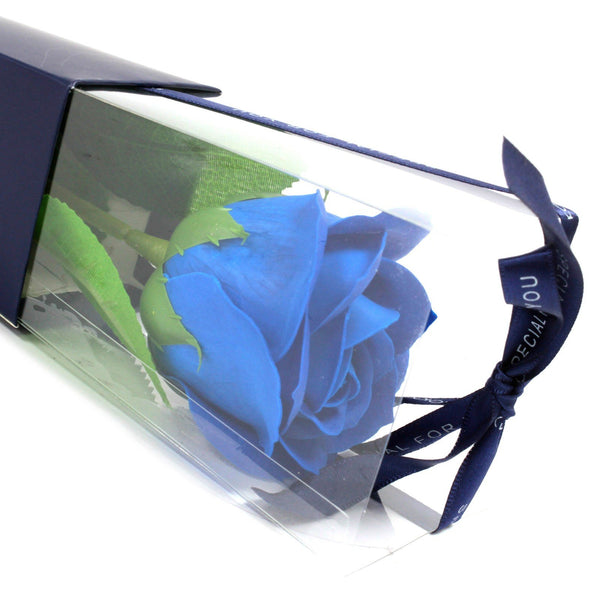 Single Rose - Blue  Rose - Gift2U.co.uk - Unique gifts online to You