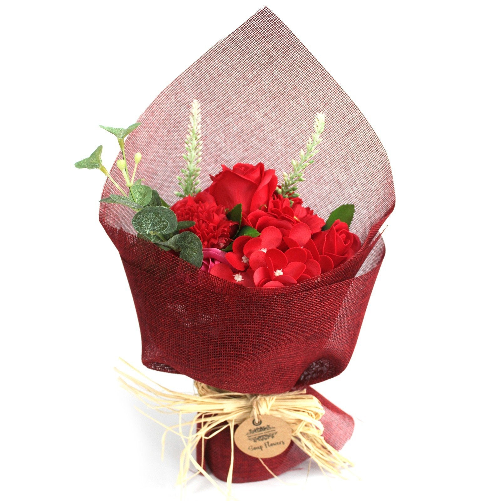 Standing Soap Flower Bouquet - Red - Gift2U.co.uk - Unique gifts online to You
