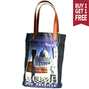 Rome Vintage Travel Bag - Gift2U.co.uk - Unique gifts online to You