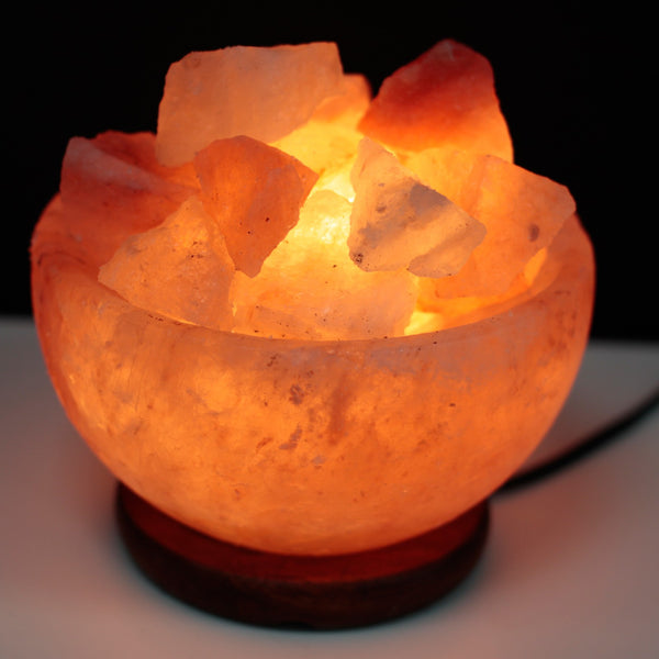 Salt Fire Bowl and Chunks - 15cm x 9cm