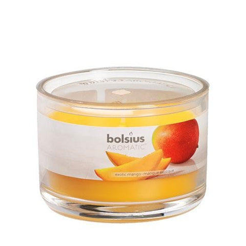 Exotic Mango Aromatic Scented Candle Jars - Gift2U.co.uk - Unique gifts online to You