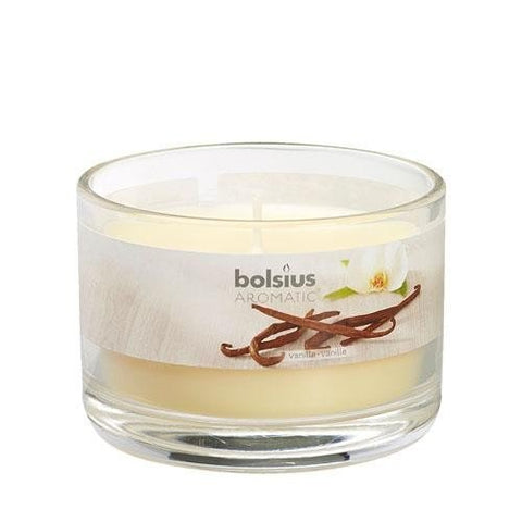 Vanilla Aromatic Scented Candle Jars - Gift2U.co.uk - Unique gifts online to You
