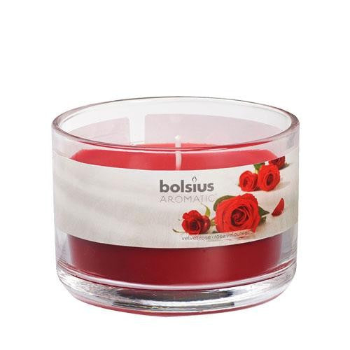 Velvet Rose Aromatic Scented Candle Jars - Gift2U.co.uk - Unique gifts online to You