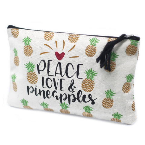 Pineapples Classic Zip Pouch - Gift2U.co.uk - Unique gifts online to You