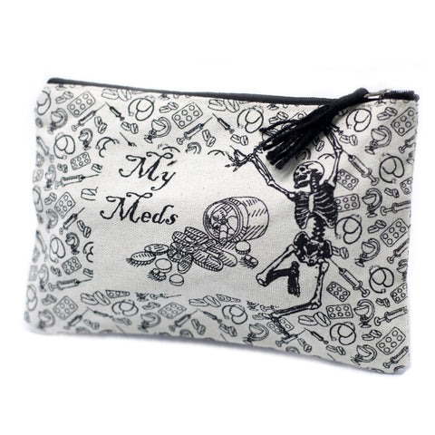My Meds Classic Zip Pouch - Gift2U.co.uk - Unique gifts online to You