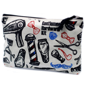 Gentleman Hardwere Zip Pouch - Gift2U.co.uk - Unique gifts online to You